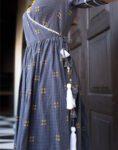 Grey Wrap Dress