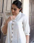 Ivory Shirt Top