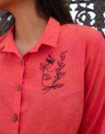 Red Shirt Top
