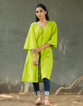 Stylish Green Kurta