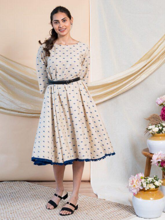 Chikoo Flare Dress (2)